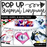 Speech Therapy Pop Up Craft: Seasonal Language Themes