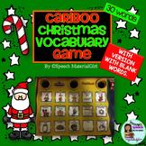 Speech Therapy Cranium Cariboo CHRISTMAS Vocabulary game activity