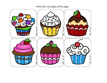 Speech Therapy - Cupcake Thief Game