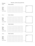 Speech Therapy Data Documentation Form