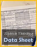 Speech Therapy Data Sheet [portrait & landscape copy]