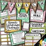 Speech Therapy Decor: Hawaiian Speech Room Decor made just