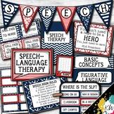 Speech Therapy Decor: Nautical Speech Room Decor made just for SLPs!