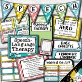 Speech Therapy Decor: Paint Splatter Speech Room Decor mad