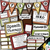 Speech Therapy Decor: Polka Dot Speech Room Decor made jus
