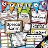 Speech Therapy Decor: Rainbow Speech Room Decor made just