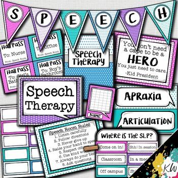 Speech Therapy Decor: Starlight Speech Room Decor made just for SLPs!