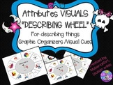 Speech Therapy Describing Wheel Attributes Visual Cues Autism