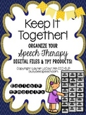 Speech Therapy Digital File Organizing Packet
