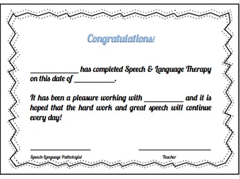 Speech Therapy Diploma