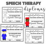Speech Therapy Diplomas