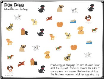 Language Pack: Dog Days for speech therapy