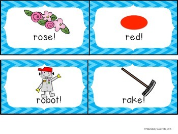 "Speech Therapy EUREKA ""R"" /r/ Articulation flash cards Instruction Homework"