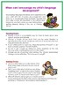 Speech Therapy - Early Intervention Program - 46 Pages