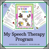 Speech Therapy - Early Intervention Package - 46 Pages