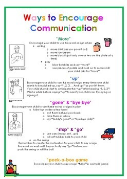Speech Therapy - Early Intervention Language Package (special needs and autism)