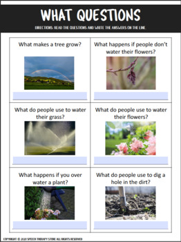 Speech Therapy Earth Day Bundle: Language, Articulation, & Social Pragmatics