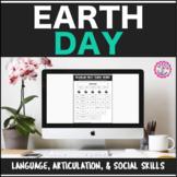 Speech Therapy Earth Day: Language, Articulation, & Social Pragmatics