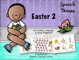 Speech Therapy Easter 2: Language, Articulation, & Social Pragmatics