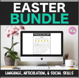 Speech Therapy Easter Interactive Language and Articulation Bundle
