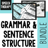 Speech Therapy | Entire Year of Grammar and Sentence Struc