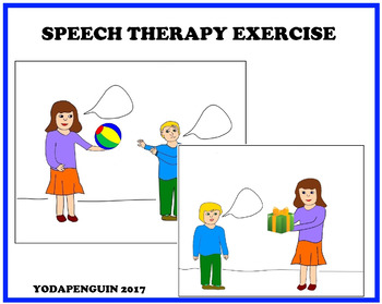 Speech Therapy Exercise