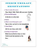 Speech Therapy Expectations