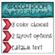 Speech Therapy Expectations Poster and Banner For Room Decor