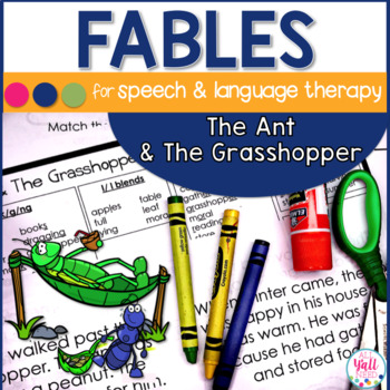 Speech Therapy Fables The Ant and The Grasshopper