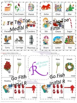 Speech Therapy Fall Holiday Articulation R Bundled: Get 2 FREE!