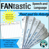 Speech Therapy: Fantastic Speech and Language