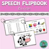 Speech Flipbook Bundle: Articulation, Sound-Sequencing, Ph