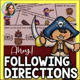 Following Directions | Listening Skills | Speech Therapy |