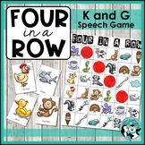 Speech Therapy Game | Four in a Row for K and G