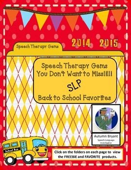 Speech Therapy Gems with Autumn Bryant - Speech Language I