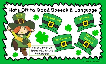 "Speech Therapy ""Good Speech and Language"" Therapy Posters II"