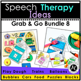 Speech Therapy Grab and Go Bundle 8
