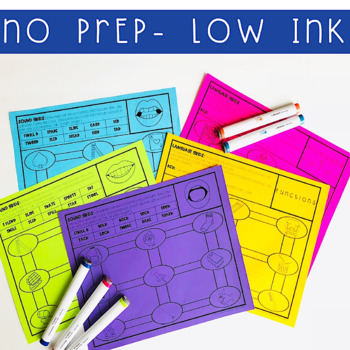 Speech Therapy Grids: No Prep Articulation and Language Drills Fine Motor