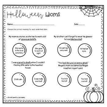 Speech Therapy Halloween | Fall Speech and Language