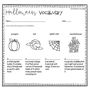 Speech Therapy Halloween | Fall Speech and Language