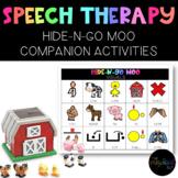 Speech Therapy: Hide-N-Go Moo Activity Companion