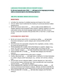 Speech Therapy IEP Objectives for Language Processing