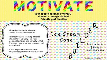 Goal Tracking to Motivate Your Speech Therapy Students - Articulation