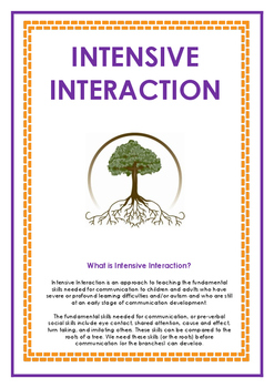 Speech Therapy - Intensive Interaction Package