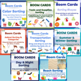 Speech Therapy Interactive Category & Sorting Games (8 Decks)