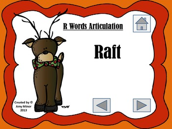 NO PRINT! Interactive Holiday Articulation Activity (Speech Therapy)