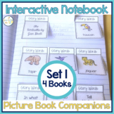 Speech Therapy | Interactive Notebook Book Companion Activities SET 1