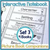 Speech Therapy | Interactive Notebook Book Companion Activities SET 3