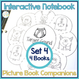 Speech Therapy | Interactive Notebook Book Companion Activities SET 4