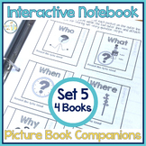 Speech Therapy | Interactive Notebook Book Companion Activities SET 5